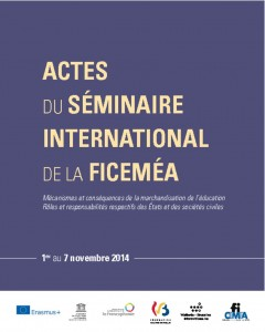 thumbnail of Actes du séminaire international de la Ficeméa