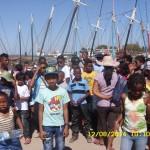 Visite du port de Mahajanga