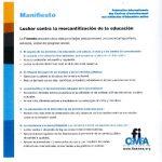 thumbnail of Manifeste – Espagnol