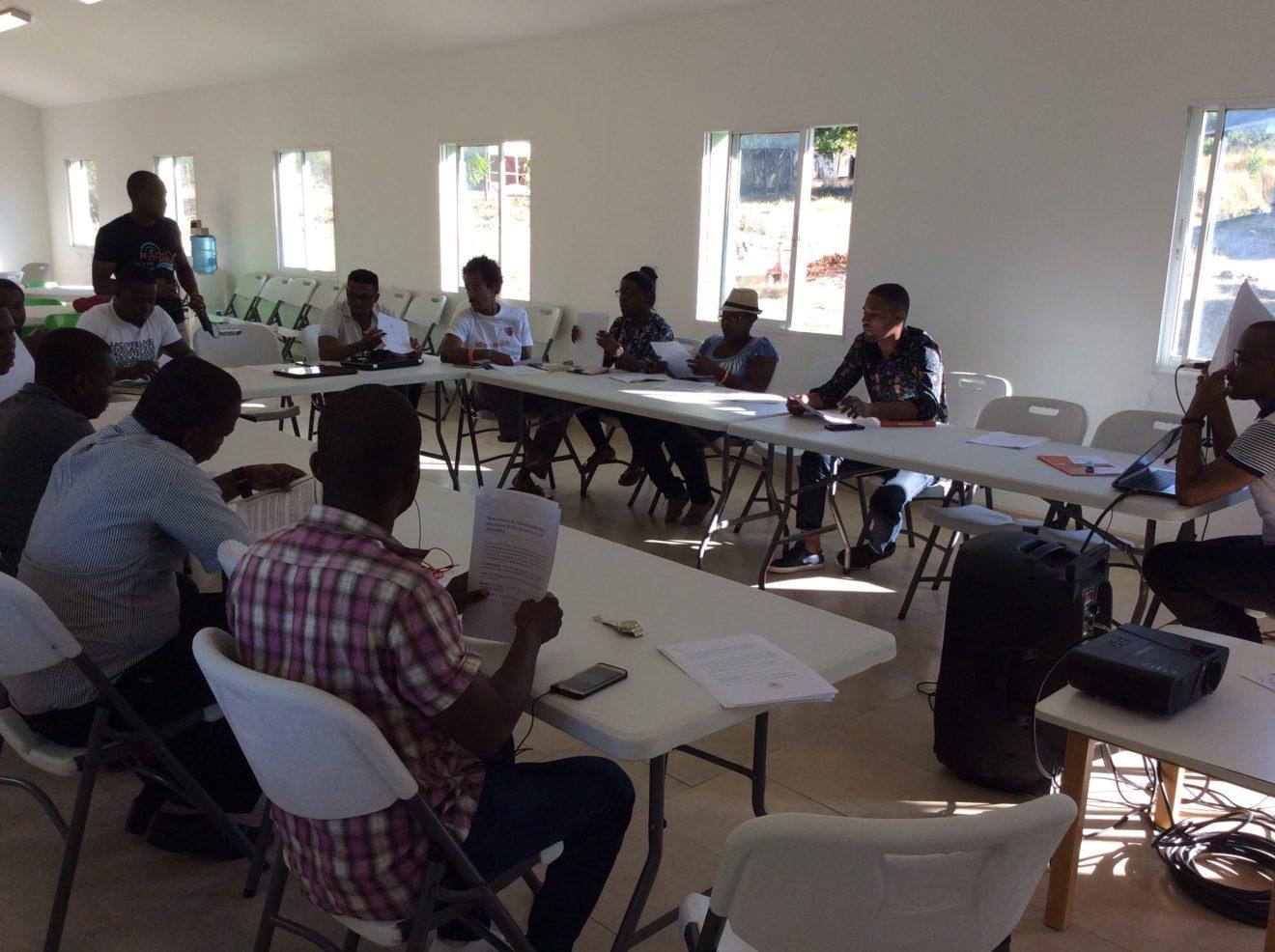 Rencontre de l'éducation Nouvelle et populaire en Haïti